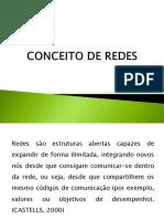 CONCEITO DE REDES