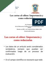 16 Las Cartas Al Editor