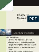Chapter 7 Motivating