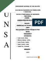Ideas Principales - Libro Principio de Peter