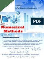 Adaptive Quadrature