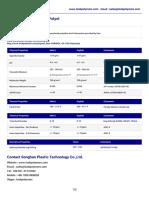 Polyol 700 (Voranol CP755) Dow TDS