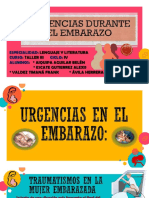 URGENCIAS DE EMBARAZO II