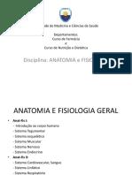 Anatomia e Fisiologia Geral