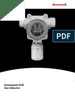 Honeywell CH4 detector manual