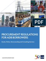 ADB Procurement Regulations - 2017