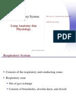 1. Respiratory anatomy and physiology