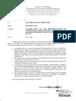 Discharge Permit Memorandum