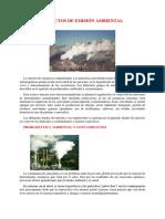 Emisión ambiental