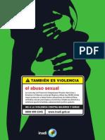 Campana del Inadi contra la violencia de género