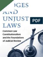 Judges and Unjust Laws -MANTESH