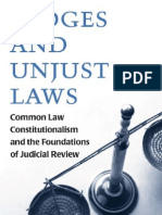 Judges and Unjust Laws -MANTESH