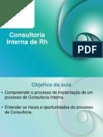 Consultoria Interna RH Implantação