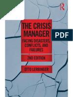 TEM 9 Lerbinger 2012 The Crisis Manager chapter 1