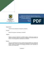 CAE-PD-15 Realización de Visitas a los STV y PE