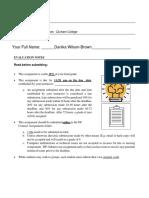 bio assignment - danika wilson brown