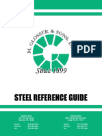 Steel Reference Guide
