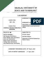 Exp No. 11 Chem Process Lab Report[1]