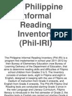 phil IRI