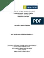 1.3 Desafíos de La Política Educativa en Un Mundo Globalizado