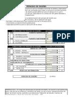 Memoria de Calculo Datos de Trabajo Volumetrico