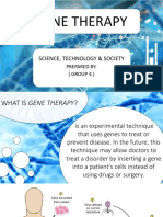 Sts Gene Therapy Final