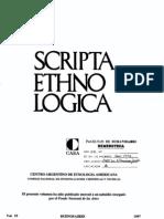 Sendón-religión y ritual en la teoría antropologica