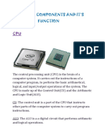 COMPUTER COMPONENTS AND IT.docx