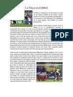 La Física en el Fútbol