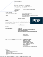 Florida State Attorney Office's disposition in case of Roger M. Fleming- Dec. 4, 2019