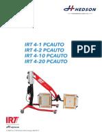 713687 IRT 4 X PcAuto Operation Manual INT Rev9