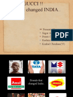 Brands That Changed India