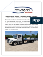 Towing Truck for Sale for Your Towing Business