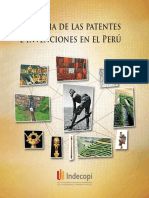 Historia de las patentes e invenciones en el Perú
