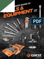 Hand & Tools Brochure 2017
