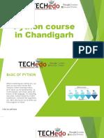Python training in Chandigarh