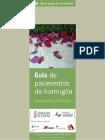 Guía de pavimentos de hormigon