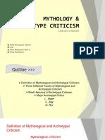 Mythology and Archetype Criticism PPT