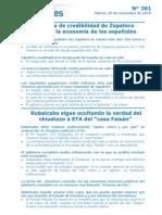 ZP castiga la economía de los españoles