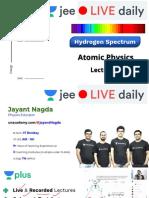 [L3] - Atomic Physics - 16th Nov