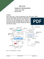 Assignment 3_Refrigeration