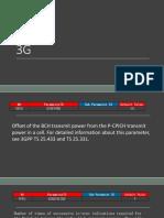 3g Parameters