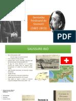 Semiotika Ferdinand de Saussure