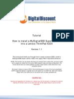 Tutorial-Install-MyDigitalSSD-SC2-Cache-Drive-In-Lenovo-X220