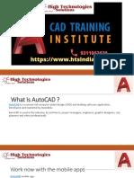 Autocad Civil Training Institute in Delhi