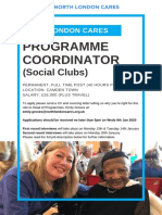 NLC Social Clubs - Job Description Jan 2020