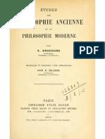 Les Prétendus sophismes de Zénon d'Élée - BROCHARD, V.
