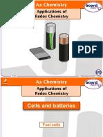 Application of Redox Chemistry