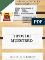 TIPOS DE MUESTREO-JUAN,JASMIN,MICHAEL,CHRISTIAN