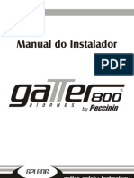 Manual Gatter800 - Instal Ad Or